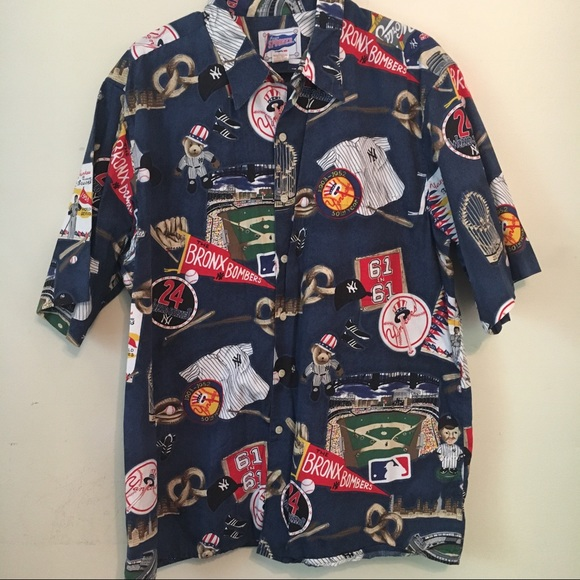 ef2c15f2 Men's Reyn Spooner MLB New York Yankees Shirt XL. M_5af0cb7a2ae12fa2ae67aa37